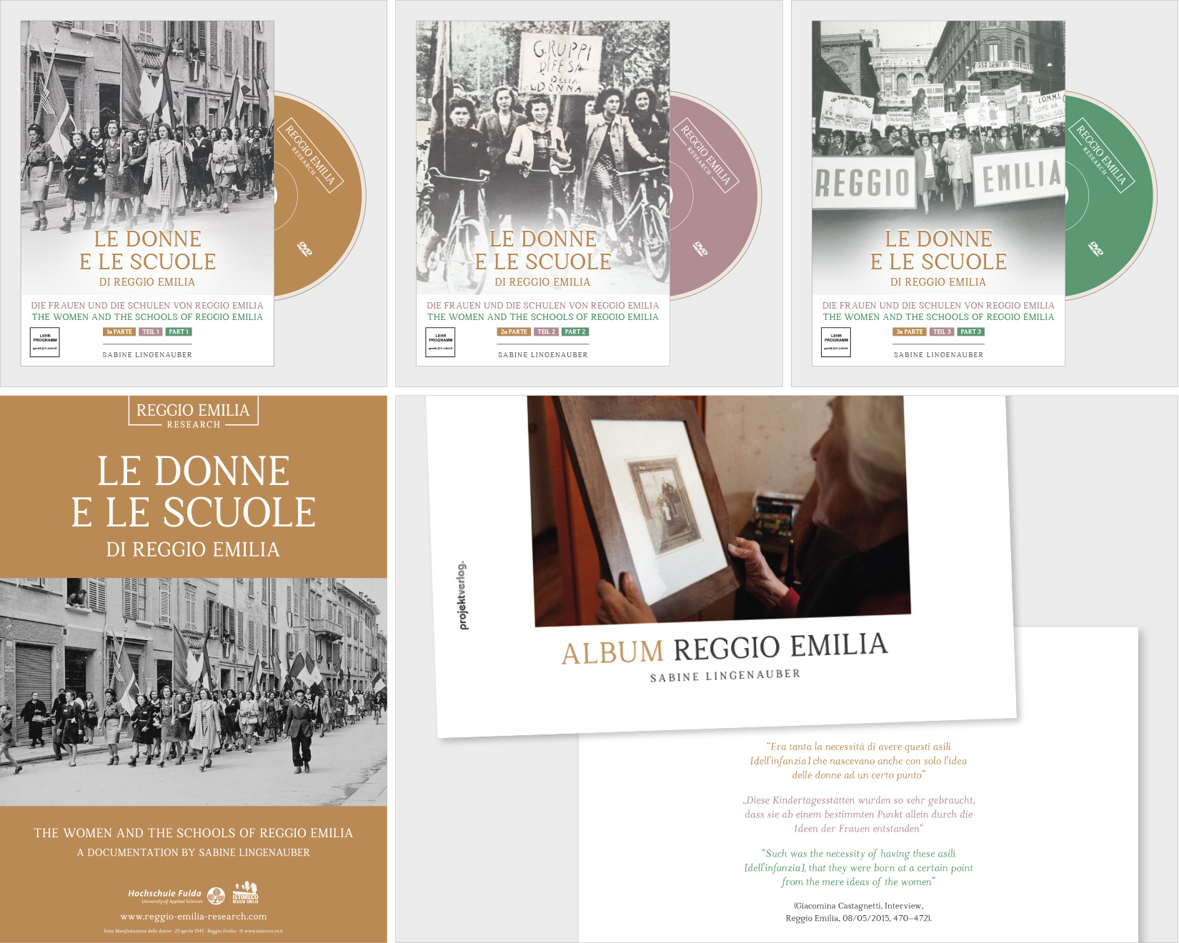 Reggio Emilia Research - corridor | Design und Web Agentur Linz