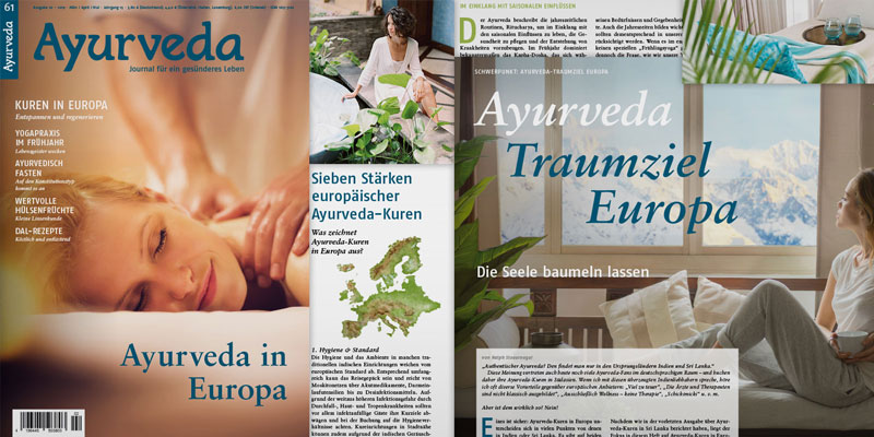 Ayurveda Journal Editorial Design